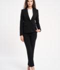 costum elegant negru
