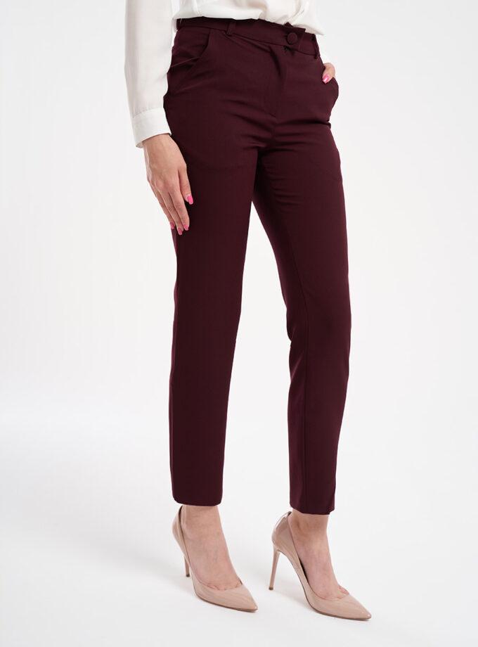 pantaloni dama grena