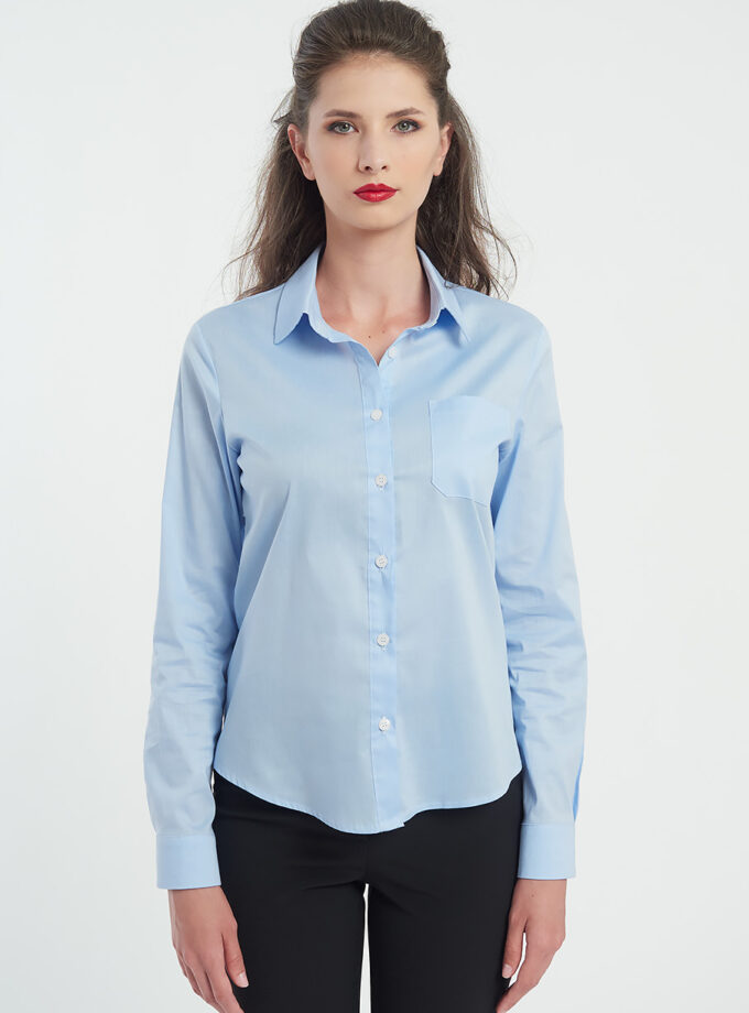 Camasa dama albastra