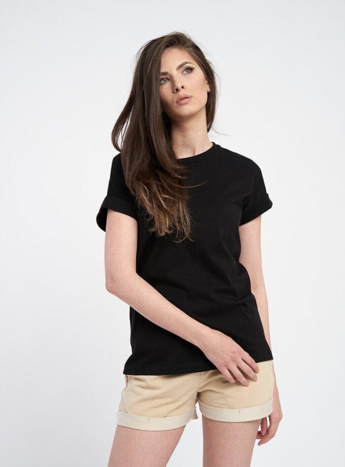 tricou dama oversize negru