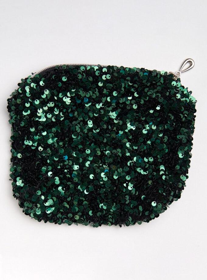portofel paiete verde smarald